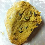 Scone dough, pumpkin, chocolate chip