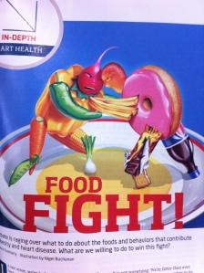 SKY Magazine, Delta, food fight, Kevin Featherly, Nigel Buchanan