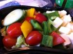 salad, REWE, Frankfurt bahnhof, lunch