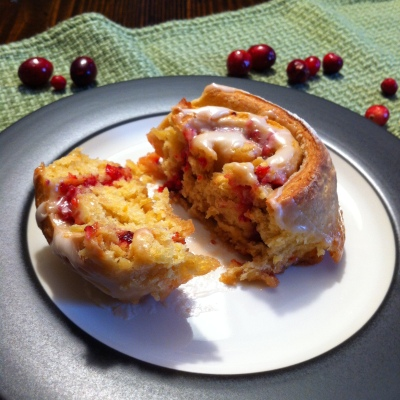 Cranberry Orange Breakfast Buns 3