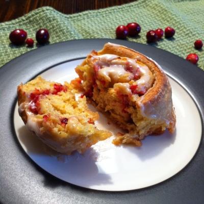 Cranberry Orange Breakfast Buns 3