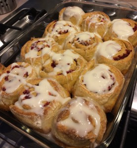 Cranberry Orange Breakfast Buns