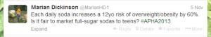 Daily soda tweet