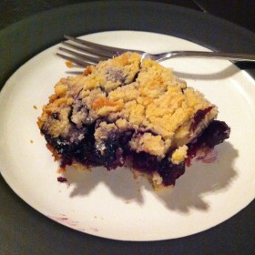For the Love of Food, blueberry bars, marianhd