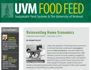 UVM Food Feed