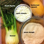 Squash and fennel ingredients 2
