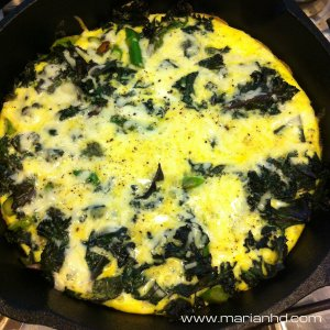 For the Love of Food, frittata