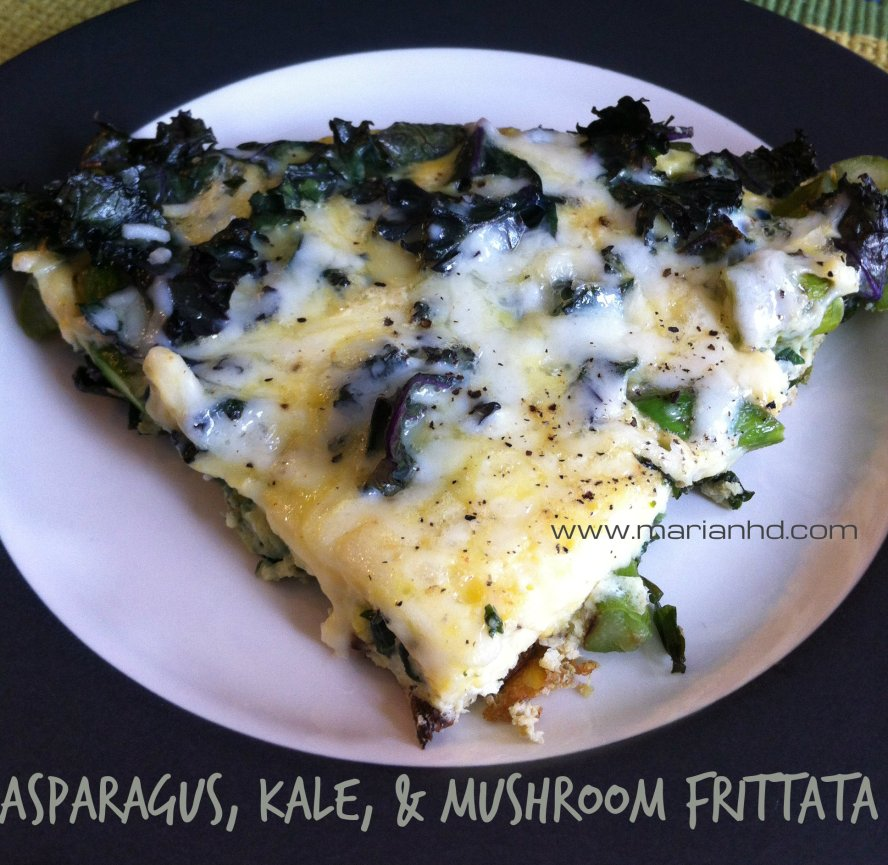 For the Love of Food, marianhd.com, veggie frittata