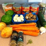 For the Love of Food, marianhd.com, healthy, freezer, slow cooker, spaghetti sauce