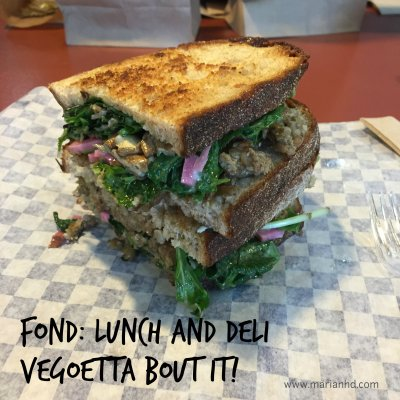 local food lunch, Fond: Lunch and Deli, vegoetta bout it