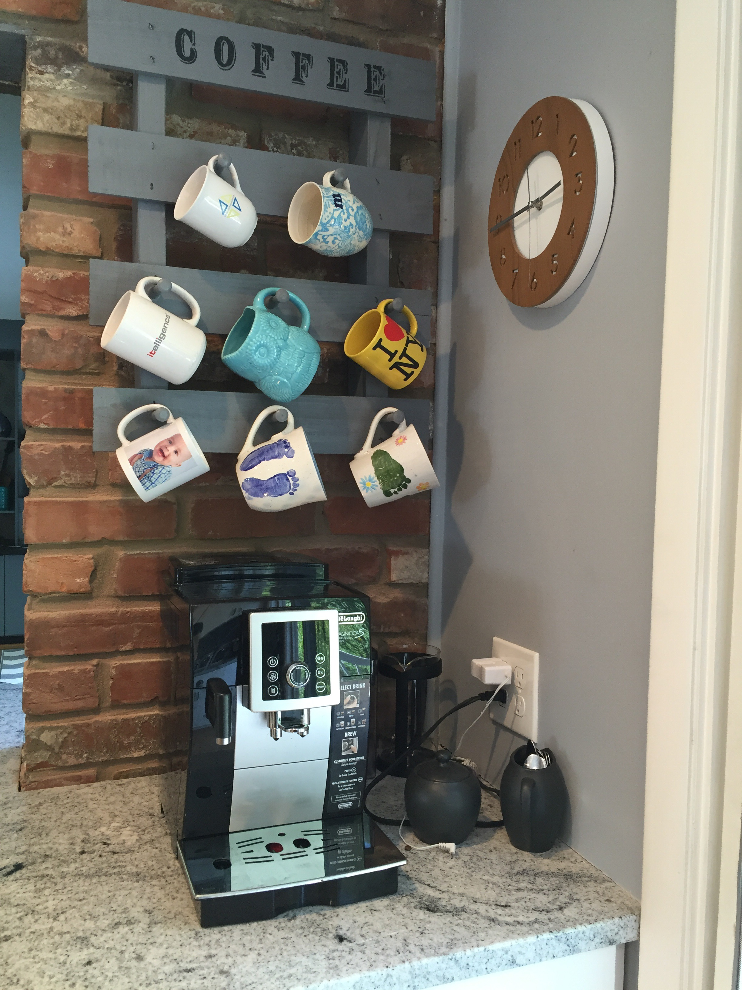 And Now We Still Get Really Good Coffee And Can Display Our Favorite Mugs!  Thanks For Checking Out My Kitchen Renovation! Part 66