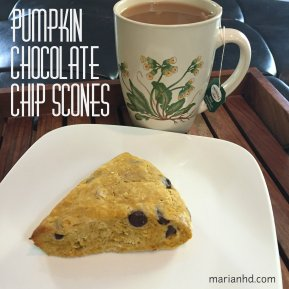 pumpkin, chocolate chip, scones, marianhd.com, food