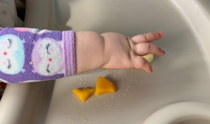 FPIES, finger food, baby hands