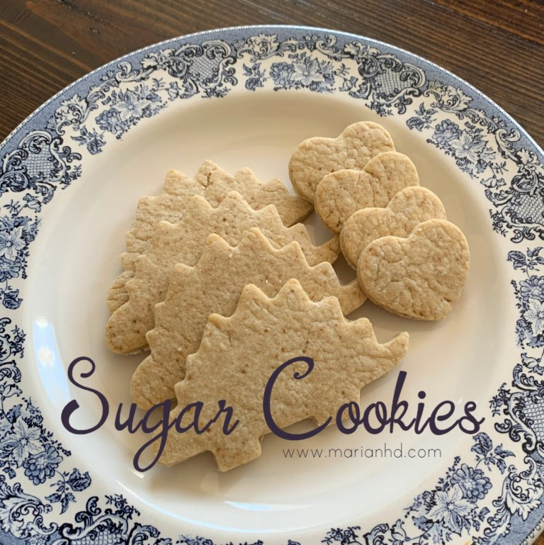 sugar cookies, FPIES, marianhd