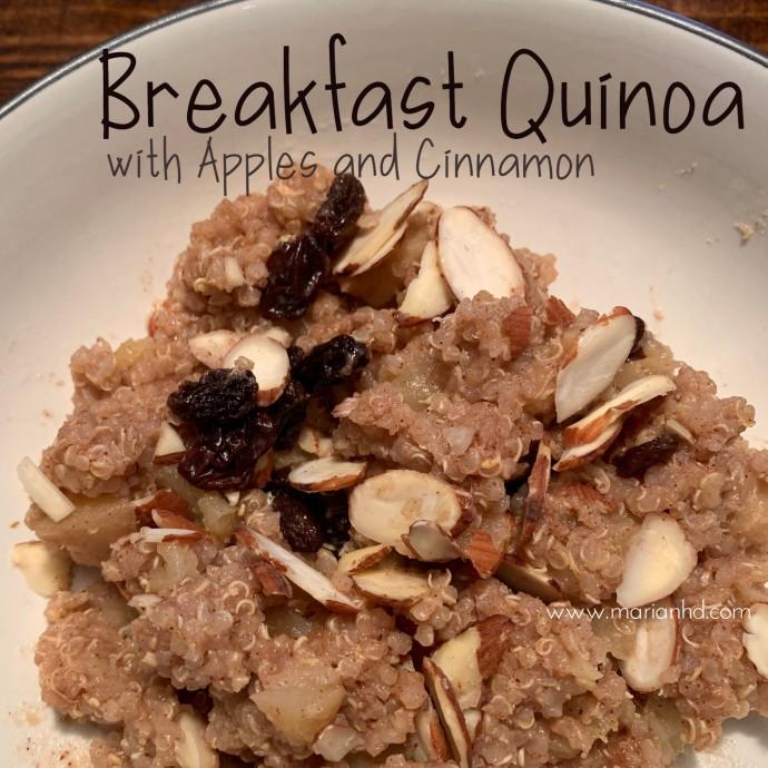 vegan breakfast, FPIES, allergies, marianhd.com, protein