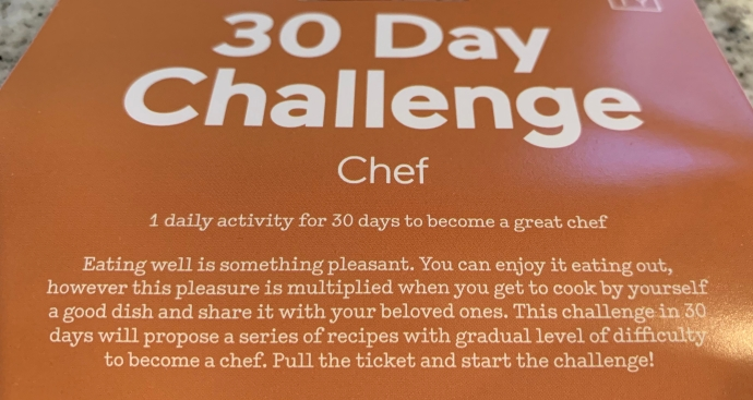 30 day challenge cooking