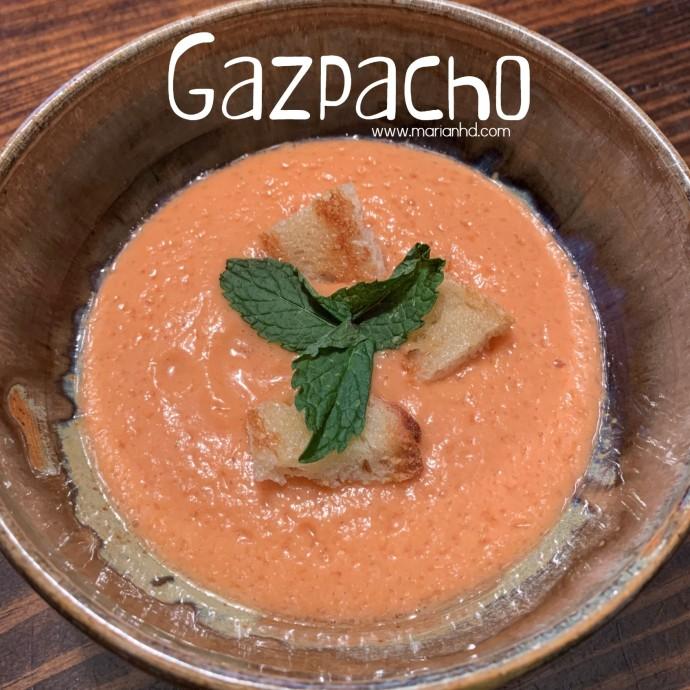 gazpacho, marianhd.com, cold soup